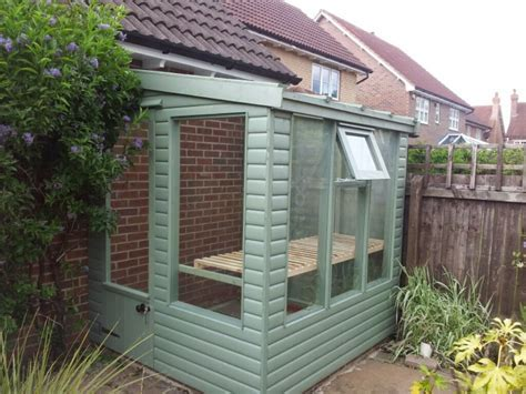 Lean to timber greenhouse   Apex Timber Buildings