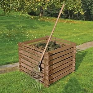 Komposter Holz Selber Bauen : garten komposter holz kompostbeh lter 90x90 cm f r 380 liter von gartenpirat de ~ Frokenaadalensverden.com Haus und Dekorationen