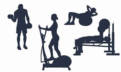 Clipart Fitness Workout Silhouette Clip Graphics Centre