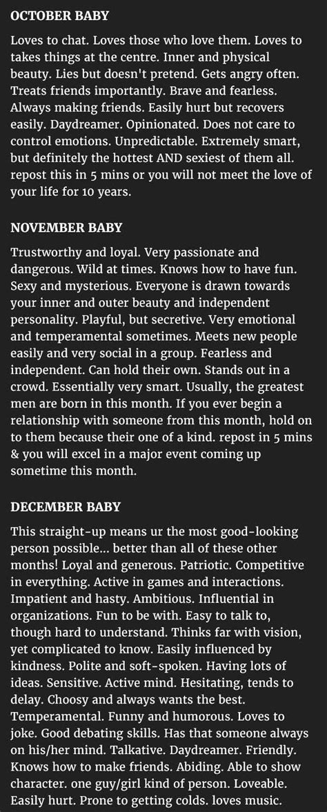 Ever Thought How The Month You Were Born In Affects Your Personality. This Is Perfect. - I'm Just Sayin