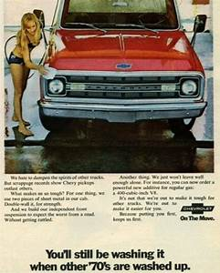 Tbt Vintage Ad For The New 1970 Chevy Trucks  End Of