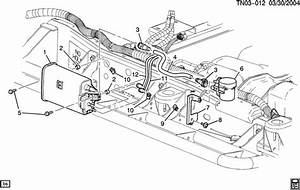 Hummer H2 Hose  Fuel Line