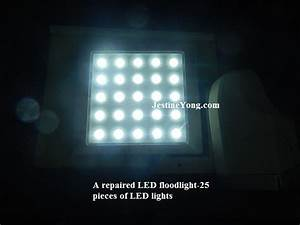 Led flood light repair electronics and technology news