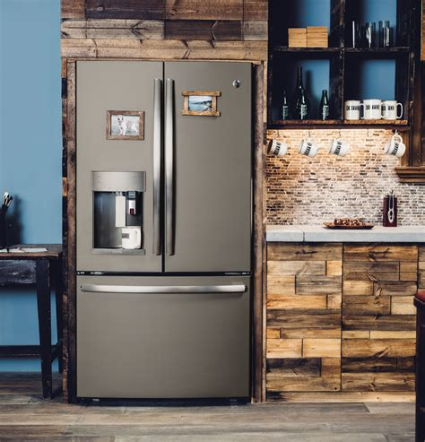 pfepmkes ge profile  cu ft french door refrigerator slate