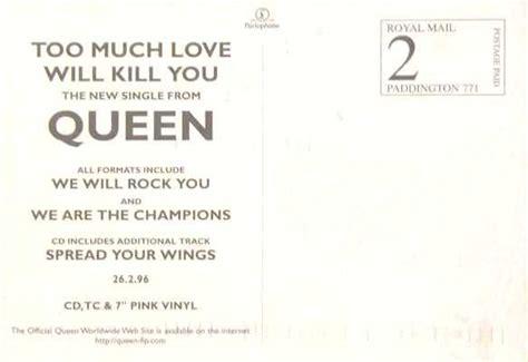 Queen Promotional Postcards Gallery