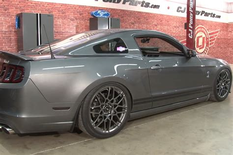 Air Mustang by Mustang With Air Suspension Installing Air Lift On A Gt500