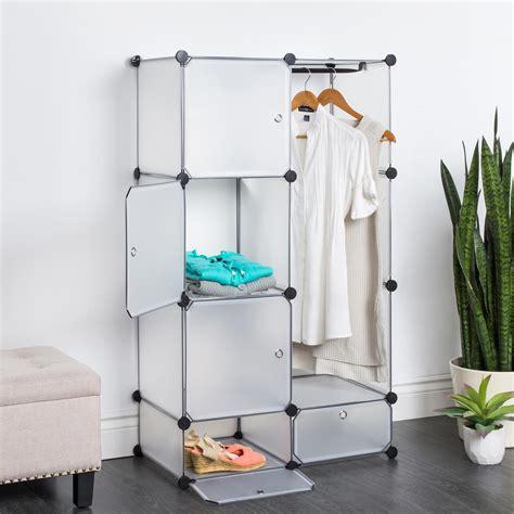Plastic Wardrobe by Ksp Closet Cube Plastic Wardrobe White Kitchen Stuff Plus