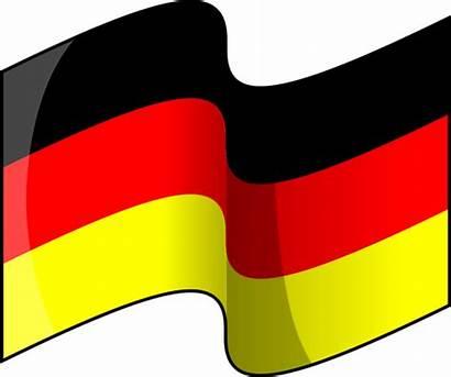 Deutschland Flagge Vektor Bild Germany Flag Waving
