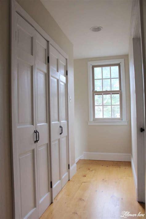hallway door ideas diy closet door makeover bi fold to hinged lehman