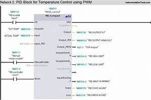 Plc Temperature Control Pwm  Pulse Width Modulation