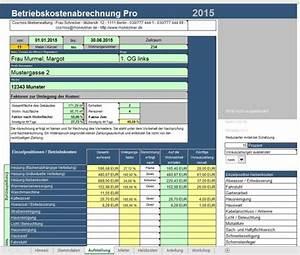 Firmenwagen Kosten Berechnen : vorlage f r nebenkostenabrechnung betriebskostenabrechnung software betriebskostenabrechnung ~ Themetempest.com Abrechnung