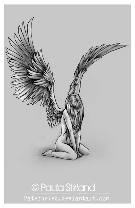 Dark Angel Tattoo Designs   Tattoo Designs and Templates