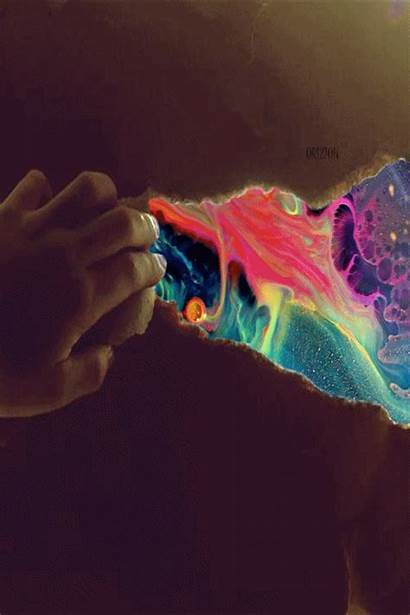 Weed Trippy Galaxy Lsd Acid Smoke Psychedelic