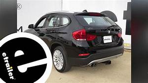 Trailer Hitch Installation - 2015 Bmw X1 - Curt