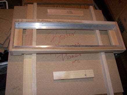 ww router planing jigs images  pinterest