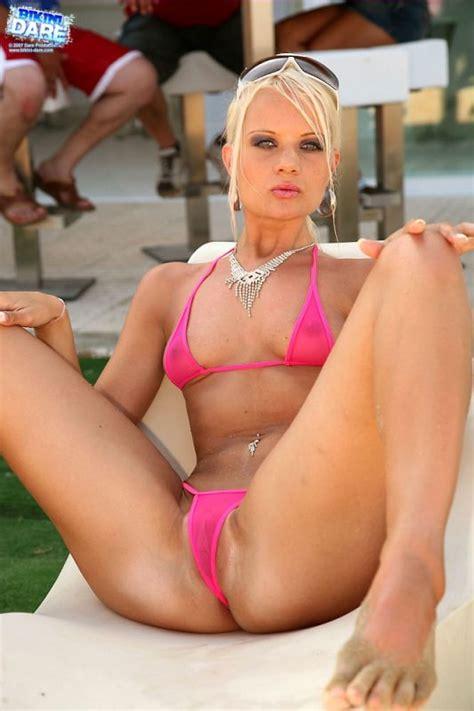 College Girl Micro Bikini