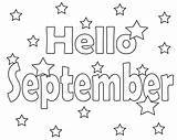 Pages September Coloring 11th Printable Preschool Sept Template sketch template