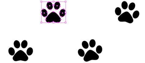 quick tip   create  simple paw print scatter brush