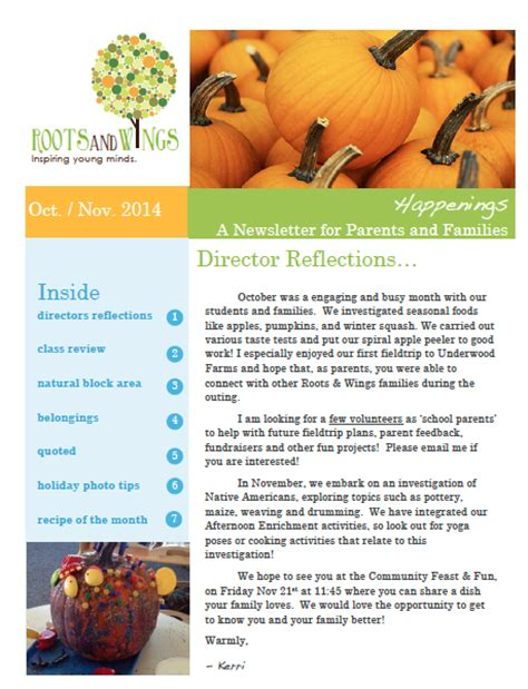 november newsletter happenings roots and wings preschool 846 | Screen Shot 2014 11 03 at 9.03.49 PM