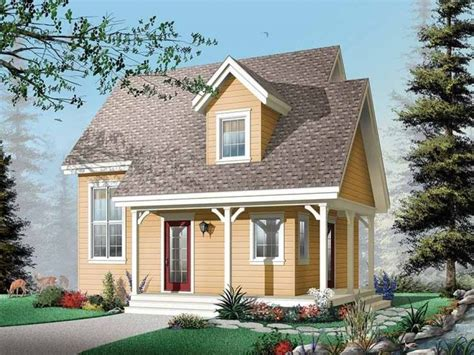 Southern Cottage Single Story House Plans Small Country