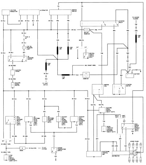 1981 Dodge D150 Wiring Diagram by Repair Guides