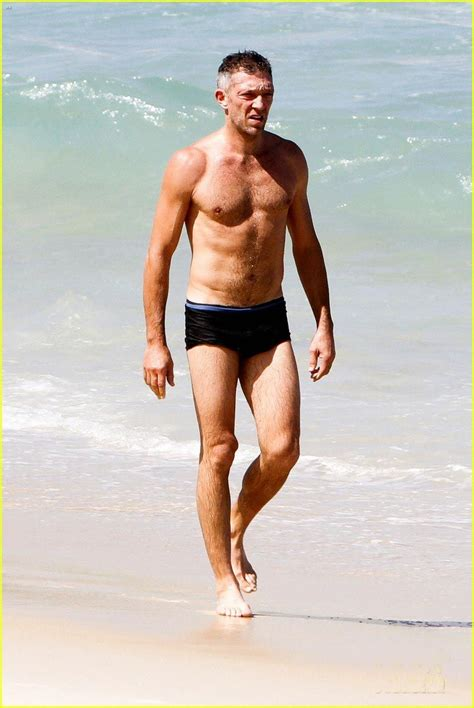 tomhopper bikini vincent cassel shows off his sexy shirtless body wearing
