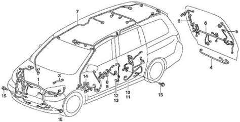 Honda Odyssey Parts Diagram Automotive