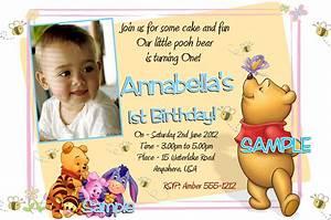 40th birthday ideas winnie the pooh birthday invitation With winnie the pooh birthday invitations templates