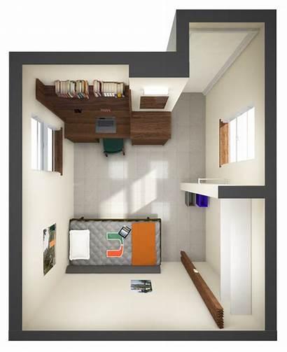 Layouts Dorm Single Layout Miami Floor University