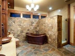 Small Rustic Bathroom Designs by 20 Rustic Bathroom Design Ideas