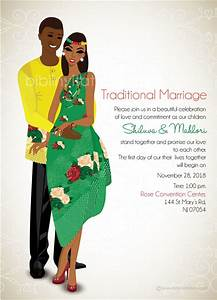 tsonga traditional wedding invitation card With digital wedding invitations south africa