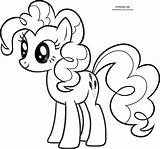 Pony Coloring Pages Little Pie Pinkie Pinky Colouring Mlp Printable Sheets Colour Sheet Print Ponies Template Cartoon Pinkypie Friendship Magic sketch template