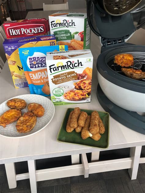 fryer air frozen foods cook fryers groceries meals things recipes snacks cooking thekitchn chicken freezer oven pork potato skins fried