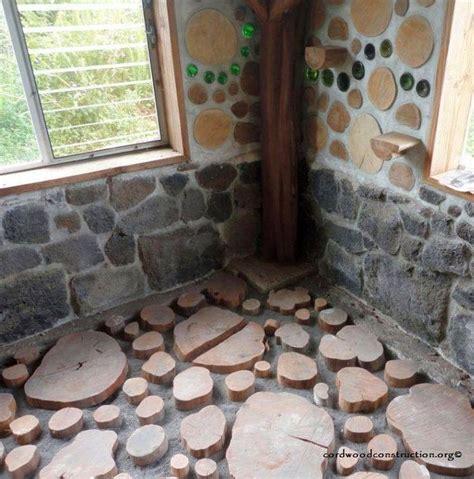 cordwood construction diy flooring flooring