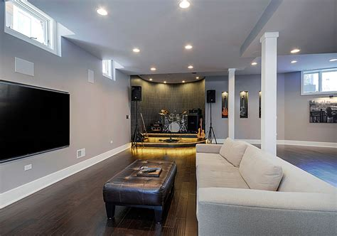 Basement : 50 Modern Basement Ideas To Prompt Your Own Remodel