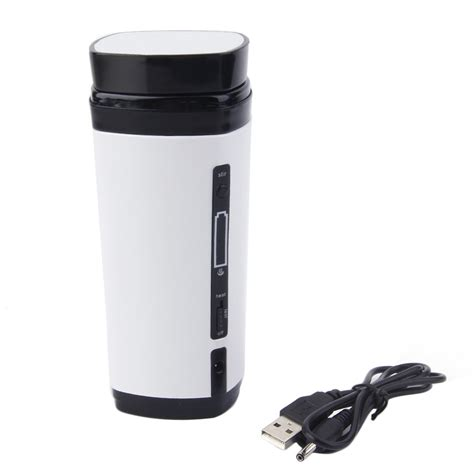 USB Water Coffee Cup Mug Drink Cup Warmer Heater Coffee thermos Gadget BK