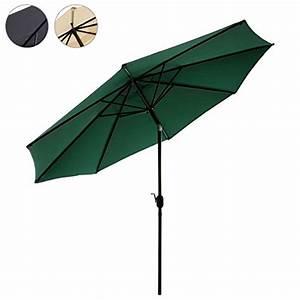 Sonnenschirm Uv Schutz 50 : sonnenschirm gartenschirm gr n blau sand viele mehr 2m m bel24 gartenm bel ~ Markanthonyermac.com Haus und Dekorationen