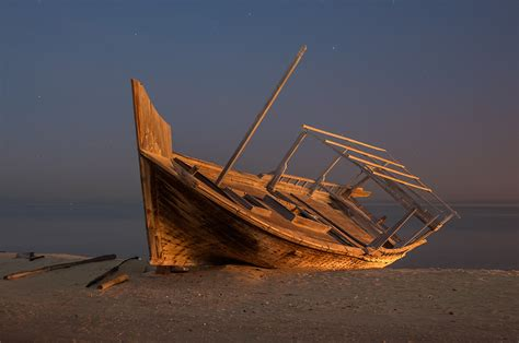 Fishing Boat Qatar by Photo 1172 22 Dhow Fishing Boat On A In Al Wakra At