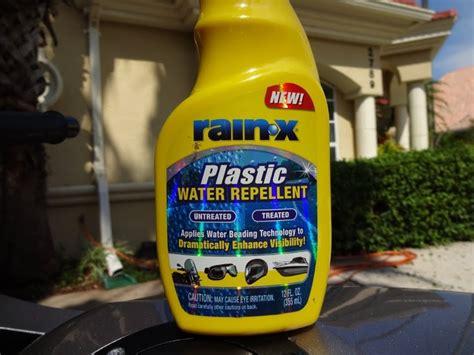 Rain X Plastic Water Repellent