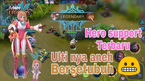 Angela New Support Mobile Legends Gameplay