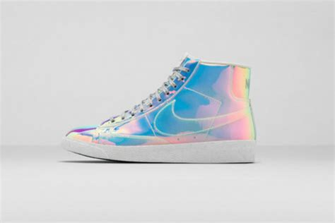 Shoes, Nike Sneakers, Holographic, Holographic Shoes