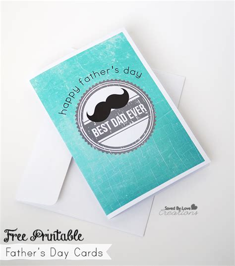 printable fathers day cards freebie