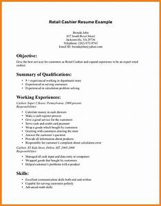 Retail Resume Objective Examples Resume Ideas