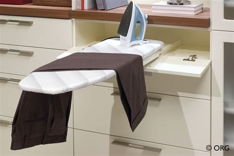 remarkable built in ironing board decorating ideas