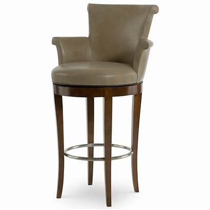 Swivel Bar Stool Scroll Arms Rolled Stools