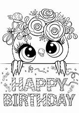 Coloring Cuties Birthday Bojanke Bonton Za Printables Tecido Printanje Owl Pintura Bontontv Preschool Eco Slatkice Sheets Colouring Printable Animal Desenhos sketch template