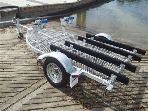 Used Boat Stands For Sale by Seatrail Standup Pwc Trailer Dblsupwc Suits 2 X