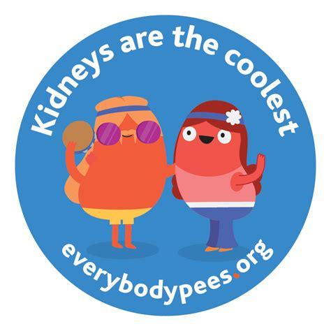 pee  key  national kidney foundations bold awareness