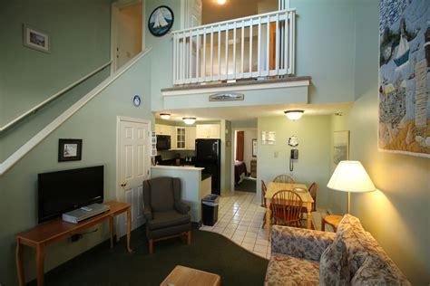 two bedrooms two bedroom loft suites harbor resort