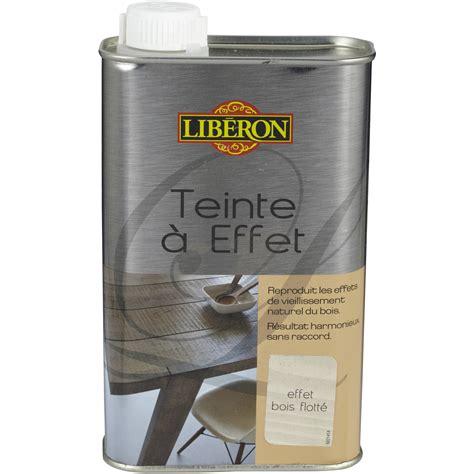 produit cuisine teinte à effet liberon 0 5 l effet bois flotté leroy merlin